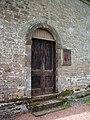 Johnstonebridge Parish Church, Doorway - geograph.org.uk - 849075.jpg