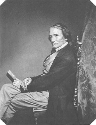 Joseph Karl Stieler - Photograph c. 1857 by Franz Hanfstaengl