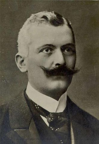 Government of Slovenia -  Knight Josip Pogačnik, first slovene prime minister in State SHS