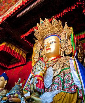 Jowo (statue) -  Jowo Mikyö Dorje of the Ramoche Temple