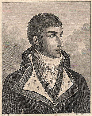 Jules de Polignac - Jules de Polignac, portrait made during the First Empire