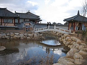 Sageuk - Yongin MBC Daejanggeum Park, where many sageuk television series are shot