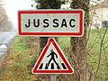 Jussac-FR-15-panneau d'agglomération-2.jpg