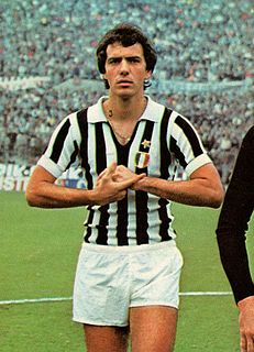 Roberto Bettega Italian footballer