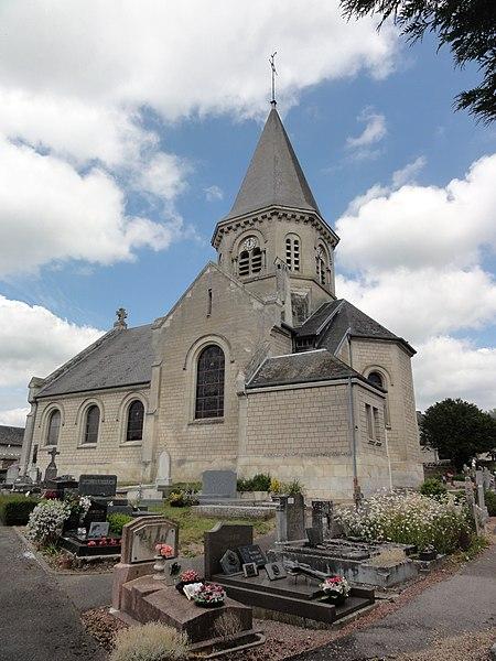 Juvigny (Aisne) église Saint-Juvin