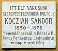 Kóczián Sándor emléktábla.JPG