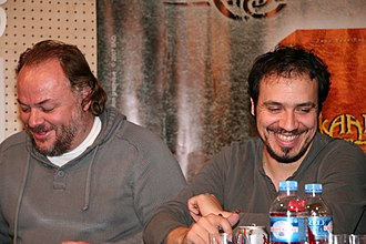 Brice Fournier - Brice Fournier (left), 2007