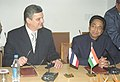 Kamal Nath and the Minister of International Economic Relations of Serbia & Montenegro.jpg