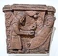 Kapitell,Letzte Kommunion der Heiligen Maria von Ägypten (Unterlindenmuseum Colmar) jm01417.jpg