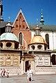 Kaplica Wazów, Wawel, Kraków - 17.08.2006 r. MW.jpg