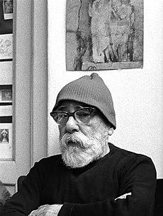Karel Kuklík, portrét Jana Zrzavého, 60. léta.jpg