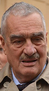 Karel Schwarzenberg Czech politician, minister of foreign affairs and vice prime minister