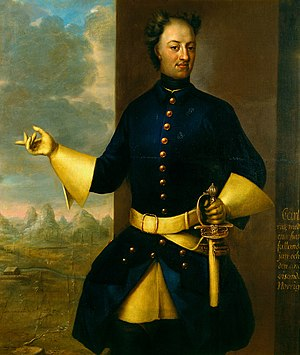 Palatine Zweibrücken - Charles XII, King of Sweden (1682-1718)