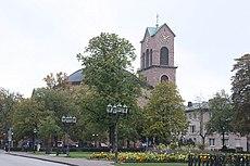 Karlsruhe, die Kirche St. Stephan.JPG