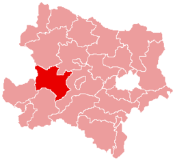 Bezirk Melk location map