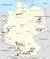 Kartta Elite-yliopistot Saksa 2012.png