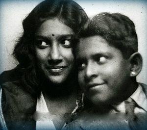 Karthika Thirunal Lakshmi Bayi -  Karthika Thirunal during her childhood days