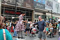 Kate Mior as Coppelia the Wind-up Doll 2015 Buskerfest Toronto 02.JPG