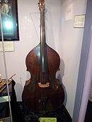 Kay L-30 Double Bass (1947), Museum of Making Music.jpg