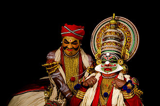 Kalamandalam Gopi - Keechaka Vadham performed by Kalamandalam Gopi