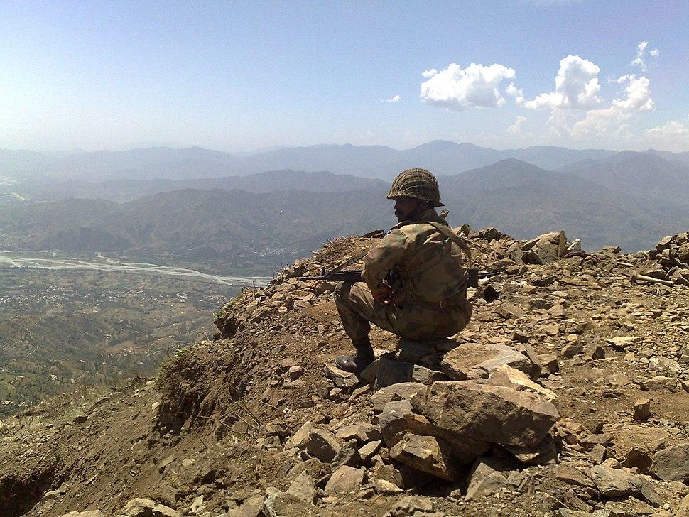 Keeping watch at Baine Baba Ziarat - Flickr - Al Jazeera English