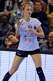 Dutch handball player