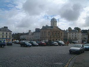 Kelso, Scottish Borders - Kelso Square