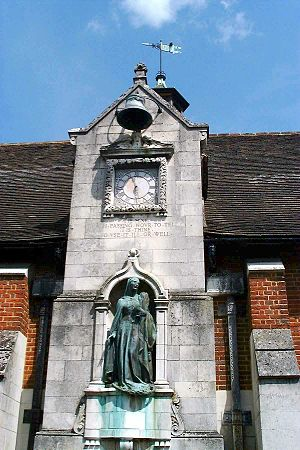 Kemsing - Clock at St Edith's Hall