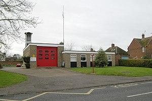 Kimbolton, Cambridgeshire - Kimbolton fire station