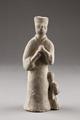 Kinesisk figur från 206 f. Kr - 24 e.Kr - Hallwylska museet - 96179.tif