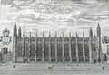 King's College Chapel, Cambridge by Loggan 1690 - sanders 6175.jpg