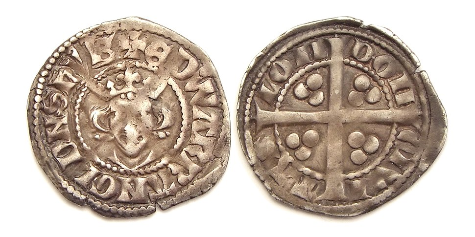 King Edward I penny London mint