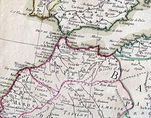 Kingdom of Fez - The Kingdom of Fez in 1783, as part of Morocco under the Alaouite dynasty