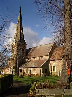 All Saints Church, Kings Heath Church in King's Heath, England
