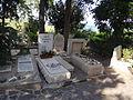 Kinnert Cemetery - Rachel & sister graves.JPG