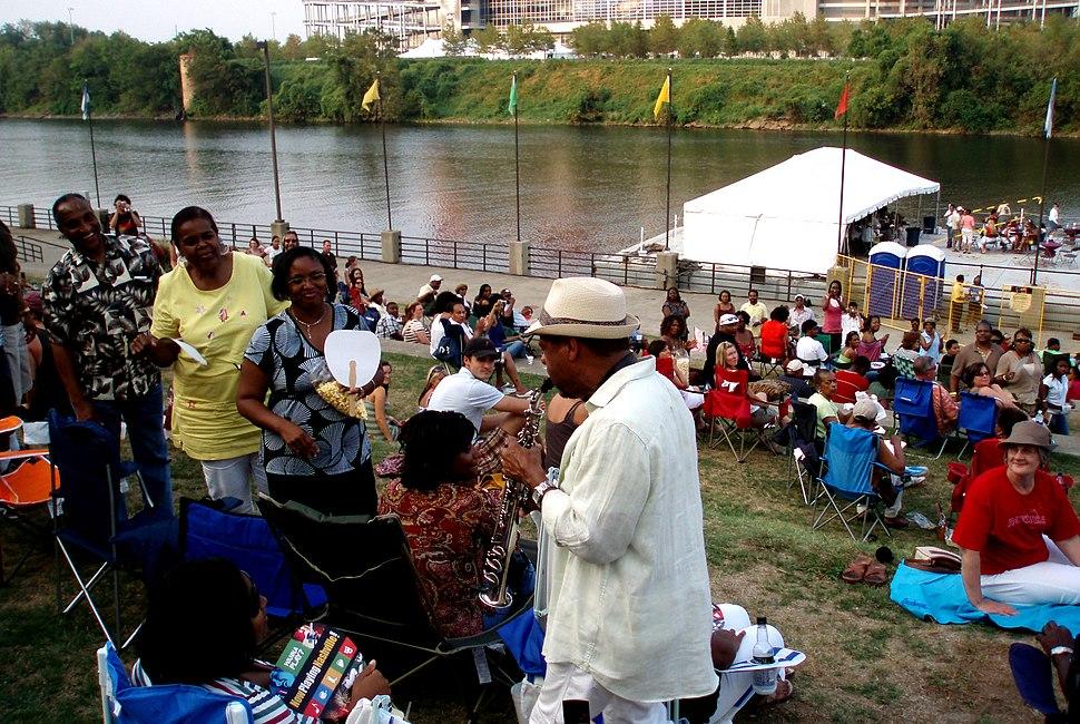 Kirk Whalum, music festival in Nashville