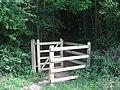 Kissing Gate near Winding Hill Wood - geograph.org.uk - 1371888.jpg
