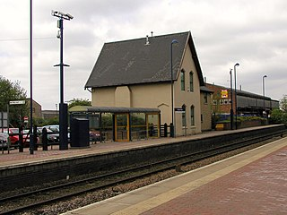 Kiveton Park railway station Railway station in South Yorkshire, England