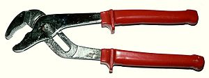 Tongue-and-groove pliers - Image: Klieste nastavitelne sika