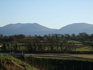 Knockmealdown Mountains - The Knockmealdowns from the M8