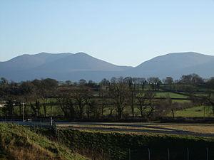 Knockmealdown Mountains - The Knockmealdowns from the M8
