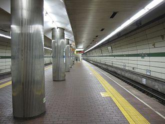 Shin-Nagata Station - Seishin-Yamate Line platform
