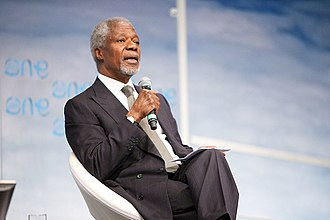 Government of Ghana - Ghanaian diplomat Kofi Annan served as Secretary-General of the United Nations for nine years until 2006.