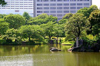 Koishikawa-Kōrakuen - Pond of Koishikawa-Kōrakuen