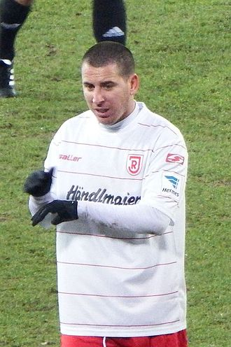 Koke (footballer, born 1983) - Koke playing for Jahn Regensburg in 2013