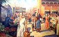Kokel кolhoznyj bazar 1934.jpg