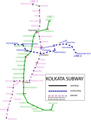 Naktala - Wikipedia, the free encyclopedia Kolkata Metro Map
