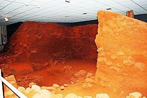 Kolomoki Mounds - Image: Kolomoki Inside