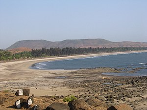 Shrivardhan - Kondivali beach near Shrivardhan