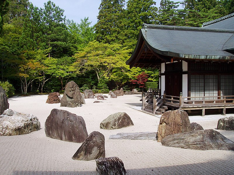 File:Kongobuji Temple, Koyasan, Japan - Banryutei rock garden.JPG
